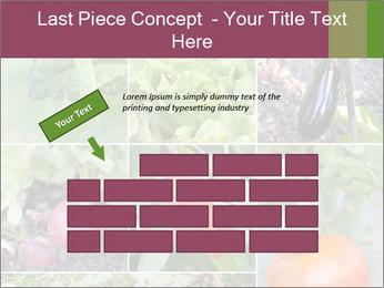 Organic Veggies PowerPoint Templates - Slide 46