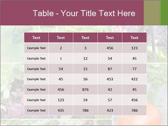 Organic Veggies PowerPoint Templates - Slide 55