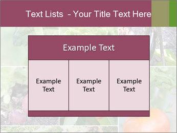 Organic Veggies PowerPoint Templates - Slide 59