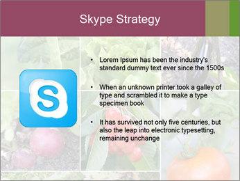 Organic Veggies PowerPoint Templates - Slide 8