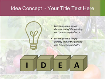 Organic Veggies PowerPoint Template - Slide 80