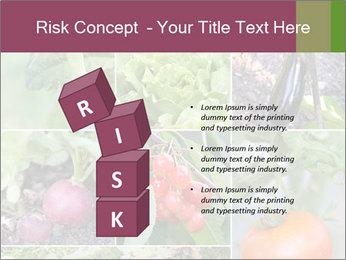 Organic Veggies PowerPoint Templates - Slide 81