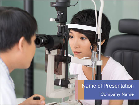 Eye Sight Check PowerPoint Template