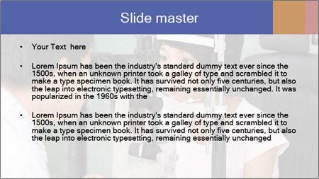 Eye Sight Check PowerPoint Template - Slide 2