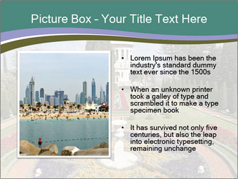 Beautiful Palace And Garden PowerPoint Template - Slide 13