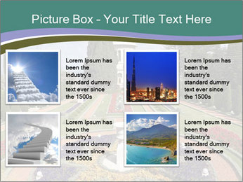 Beautiful Palace And Garden PowerPoint Templates - Slide 14