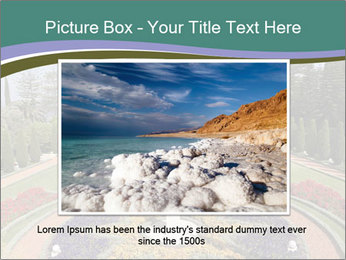 Beautiful Palace And Garden PowerPoint Template - Slide 16