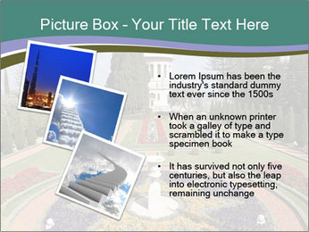 Beautiful Palace And Garden PowerPoint Template - Slide 17