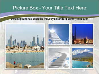 Beautiful Palace And Garden PowerPoint Template - Slide 19