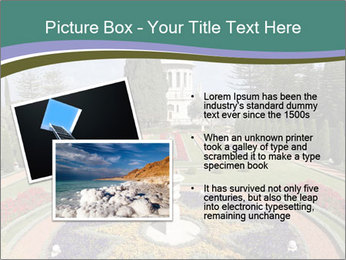 Beautiful Palace And Garden PowerPoint Template - Slide 20