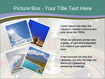 Beautiful Palace And Garden PowerPoint Templates - Slide 23