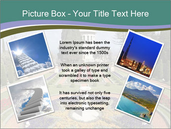 Beautiful Palace And Garden PowerPoint Template - Slide 24