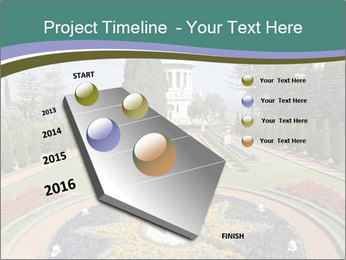 Beautiful Palace And Garden PowerPoint Template - Slide 26