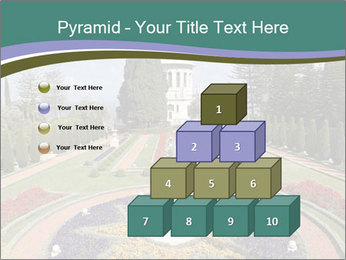 Beautiful Palace And Garden PowerPoint Template - Slide 31