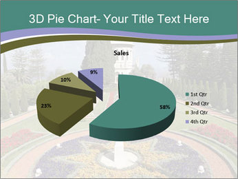 Beautiful Palace And Garden PowerPoint Template - Slide 35