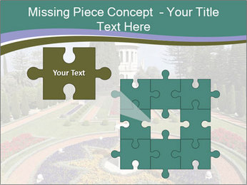 Beautiful Palace And Garden PowerPoint Template - Slide 45