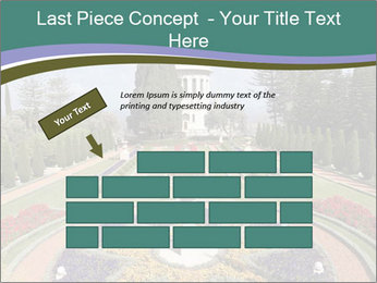 Beautiful Palace And Garden PowerPoint Template - Slide 46
