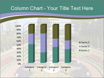 Beautiful Palace And Garden PowerPoint Template - Slide 50