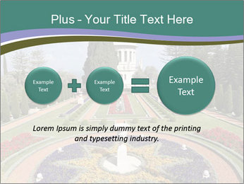 Beautiful Palace And Garden PowerPoint Template - Slide 75
