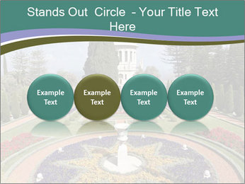 Beautiful Palace And Garden PowerPoint Template - Slide 76