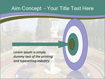 Beautiful Palace And Garden PowerPoint Template - Slide 83