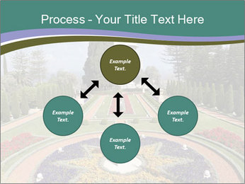 Beautiful Palace And Garden PowerPoint Template - Slide 91