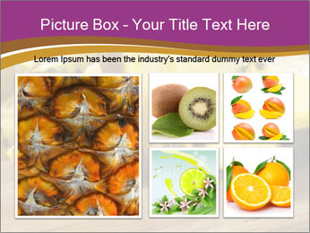Sweet Slices Of Pineapple PowerPoint Template - Slide 19