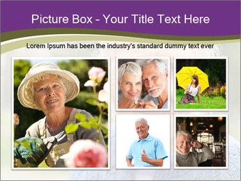 Cute Grandmama PowerPoint Template - Slide 19