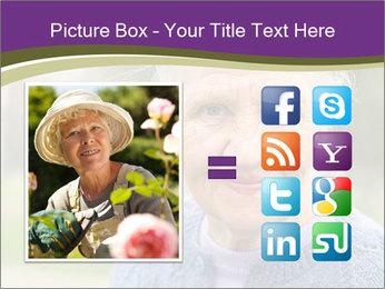Cute Grandmama PowerPoint Template - Slide 21