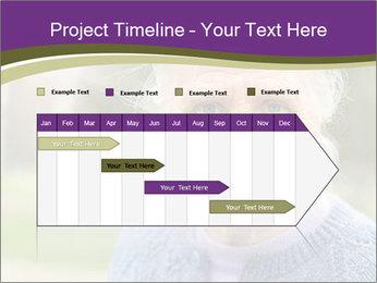 Cute Grandmama PowerPoint Template - Slide 25