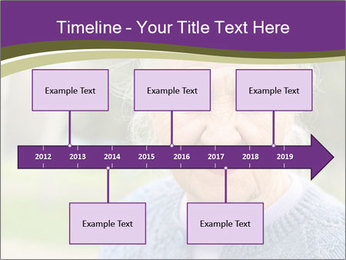 Cute Grandmama PowerPoint Template - Slide 28
