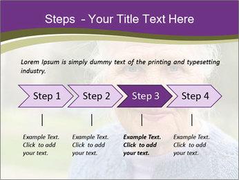 Cute Grandmama PowerPoint Template - Slide 4