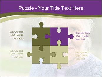 Cute Grandmama PowerPoint Template - Slide 43