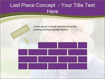 Cute Grandmama PowerPoint Template - Slide 46