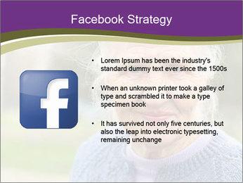Cute Grandmama PowerPoint Template - Slide 6