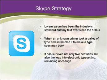 Cute Grandmama PowerPoint Template - Slide 8