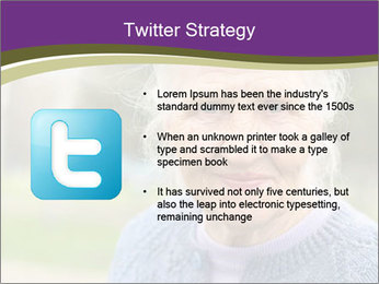 Cute Grandmama PowerPoint Template - Slide 9