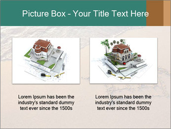 House Drawing On Sand PowerPoint Template - Slide 18