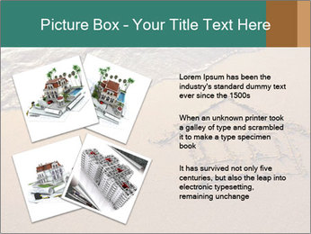 House Drawing On Sand PowerPoint Template - Slide 23