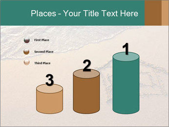 House Drawing On Sand PowerPoint Template - Slide 65