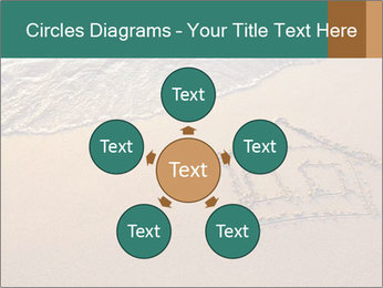 House Drawing On Sand PowerPoint Template - Slide 78