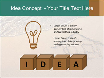 House Drawing On Sand PowerPoint Template - Slide 80