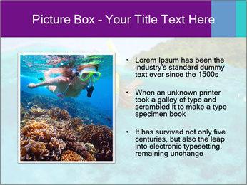 Diver In Googles PowerPoint Template - Slide 13