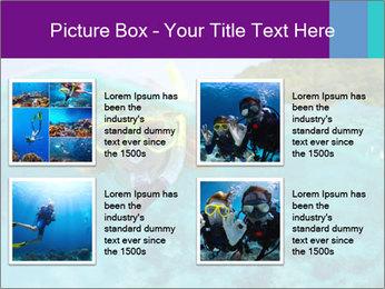 Diver In Googles PowerPoint Template - Slide 14