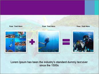 Diver In Googles PowerPoint Template - Slide 22