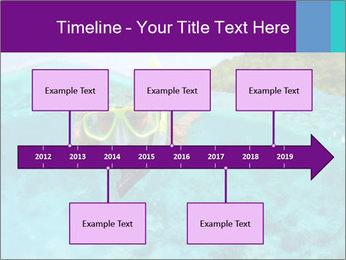 Diver In Googles PowerPoint Template - Slide 28