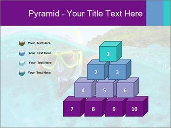 Diver In Googles PowerPoint Template - Slide 31