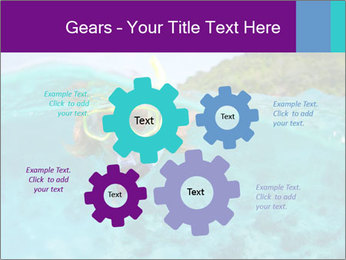 Diver In Googles PowerPoint Template - Slide 47