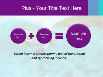 Diver In Googles PowerPoint Template - Slide 75