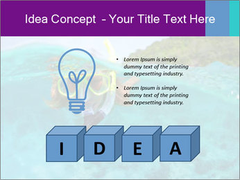 Diver In Googles PowerPoint Template - Slide 80